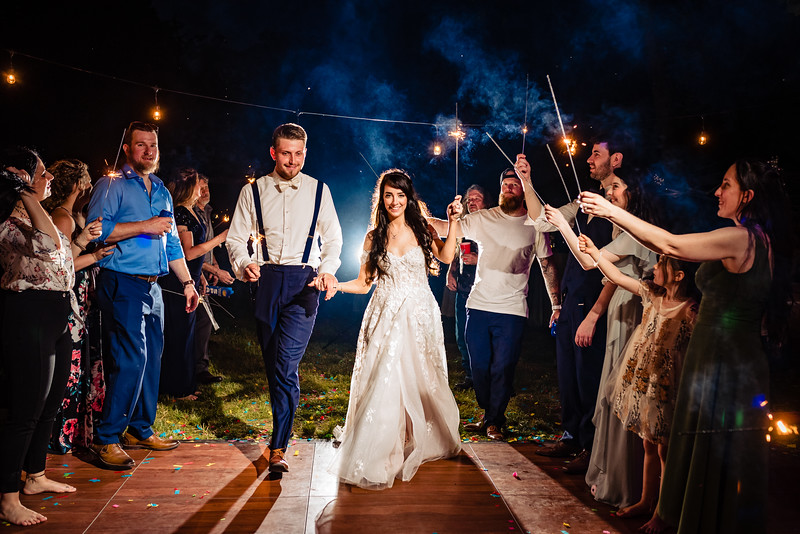 Stephanie and Justin wedding