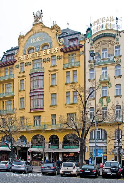 Hotel Europa, Wenceslas Square, Prague