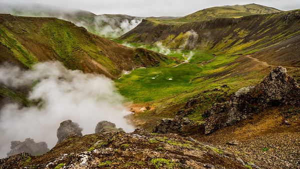 Day 8 - Exploring the South: Reykjadalur, Kerid