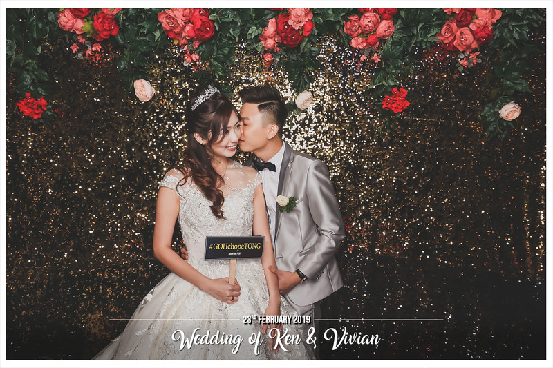 Wedding of Ken & Vivian | © www.SRSLYPhotobooth.sg