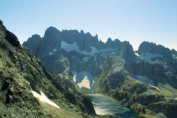 Volcanic Ridge Attempt I via the Shadow Lake Trail, October 2001