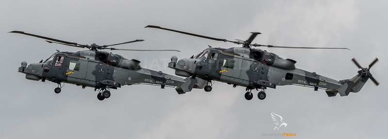 Royal Navy / Agusta Westland Lynx Wildcat HMA2 / ZZ381, ZZ519