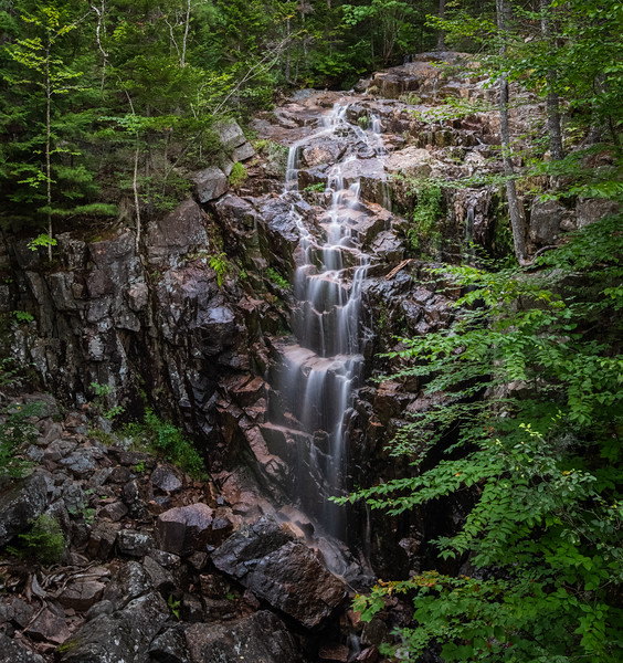 Hadlock Falls - Carriage Road - Acadia National Park - Maine - 2019