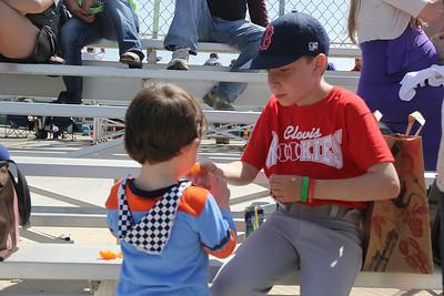 Sean's First Baseball Game (April 6, 2013)