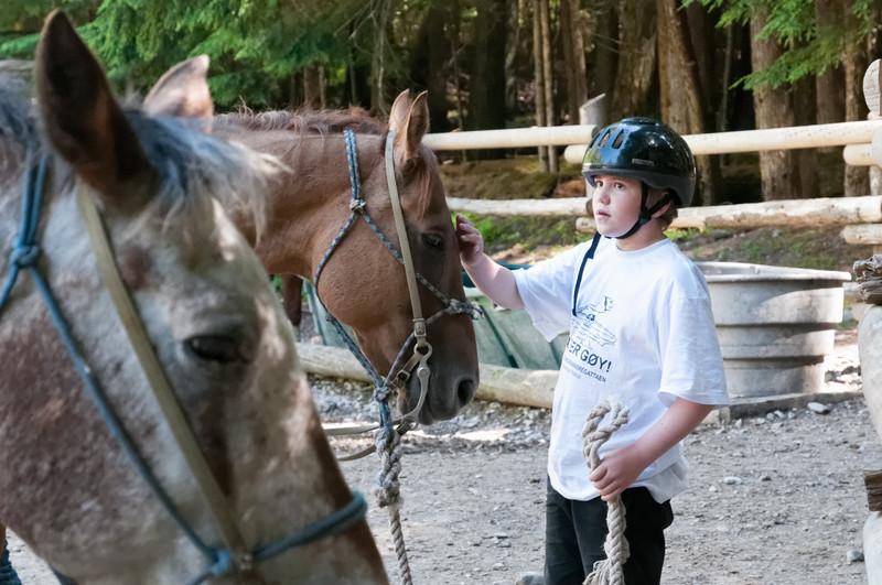 Richards Pferd hiess Chuck.