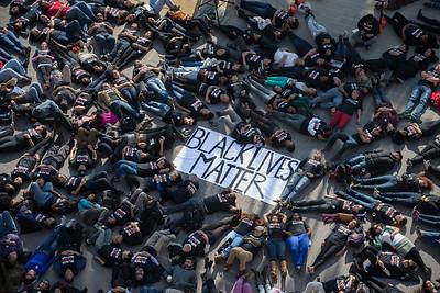 Black Lives Matter Die-In at Stanford
