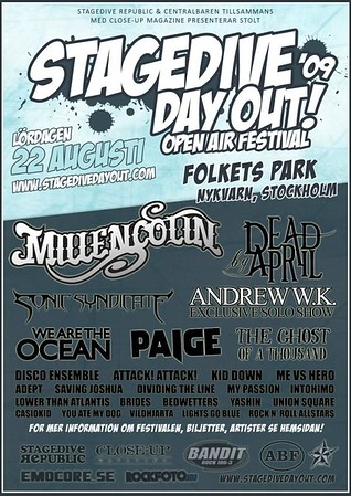 Calm – Stagedive Day Out 2006