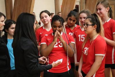 MS 7th-8th Volleyball vs Newport 12-5-19