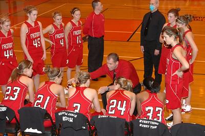 Girls Varsity Basketball - 2007-2008 - 2/20/2008 District Semi Big Rapids JG