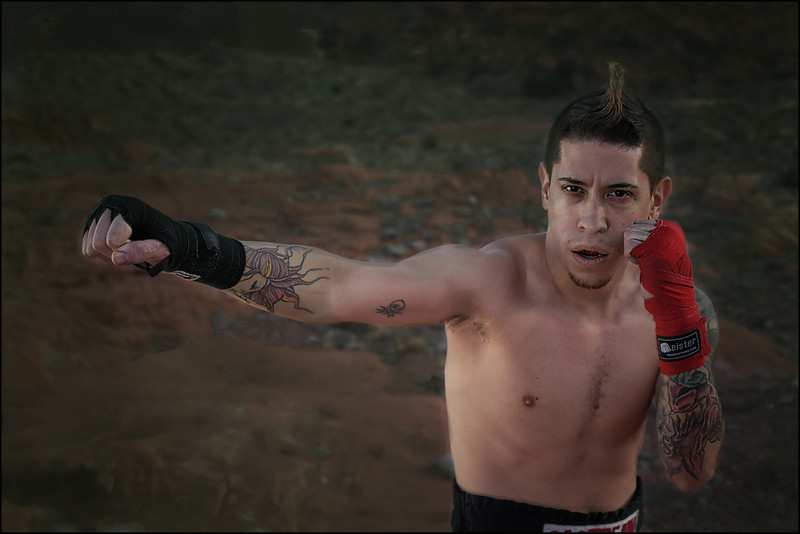 Anthony Castrejon, Muay Thai Fighter.