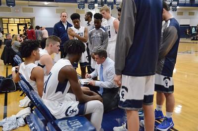 OE Varsity boys basketball Vs Plainfield No. 2018