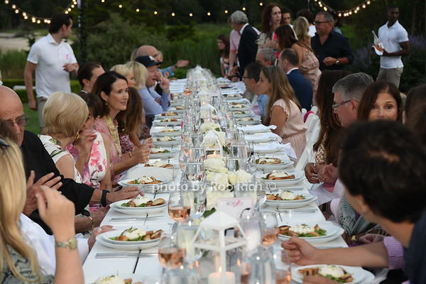 Hamptons Paddle for Pink private reception & dinner at the  residence of Larry & Maria Baum on 8-2-19.  all photos by Rob Rich/SocietyAllure.com ©2019 robrich101@gmail.com 516-676-3939
