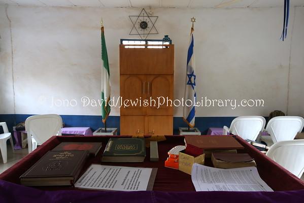NIGERIA, Abuja, Jikwoyi. Ghihon Hebrews' Synagogue (8.2015)