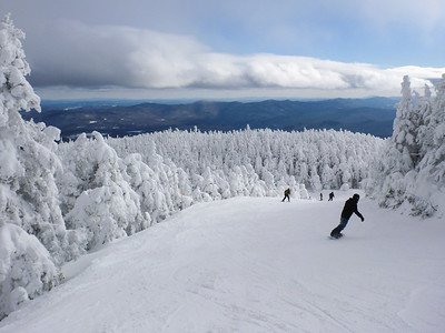 Sugarbush Mountain at Warren, VT.