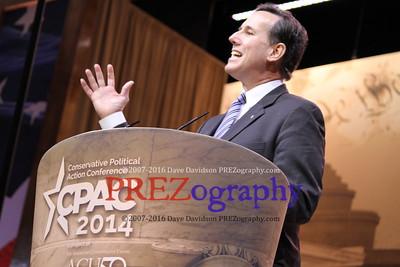 Rick Santorum CPAC 2014