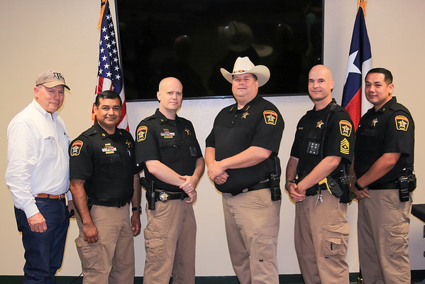 Milam County Sheriff's Department Promotions June 2020