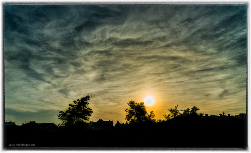 Kanata Sunset From Tweedsmuir on the Park Lookout