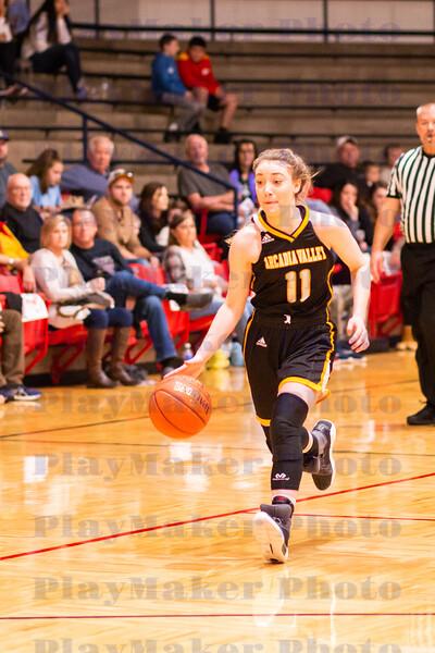 Arcadia Valley vs Steelville High School Woman's Basketball
