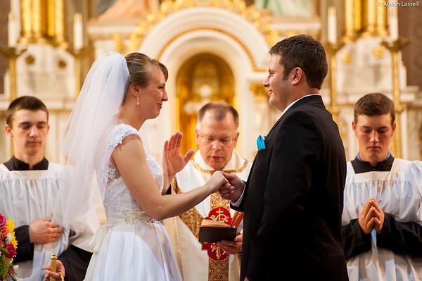 Janie and Ben Wedding