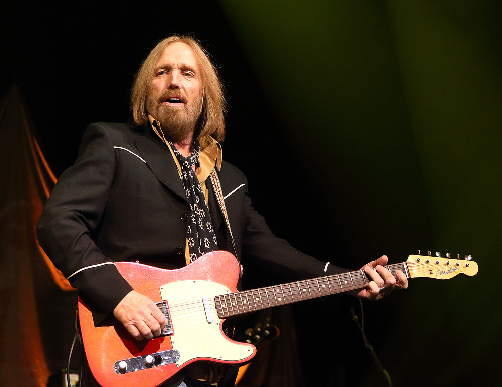 . Tom Petty performs in concert with Tom Petty and the Heartbreakers during their �Hypnotic Eye Tour 2014� at the Wells Fargo Center on Monday, Sept. 15, 2014, in Philadelphia.(Photo by Owen Sweeney/Invision/AP)