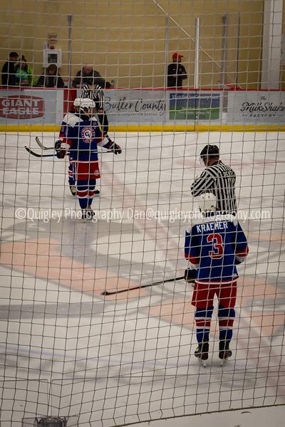 Luke Vaughn hockey game 2020