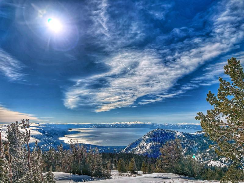 Lake Tahoe from Tamarack Peak
