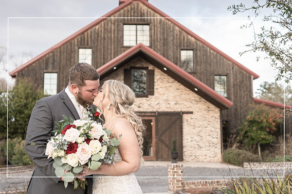 Wonderful Winter Wedding at the Carriage House in Conroe Texas