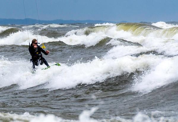 Lake Michigan Surfers