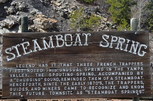 Spring Yampa River Walk - Steamboat Springs