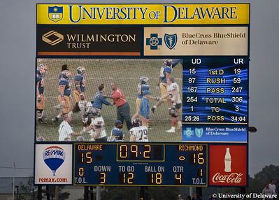 vs Richmond  9-12-09