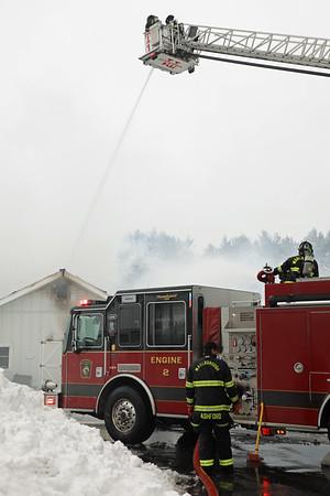 2 Alarm School Fire - Hillside School, Marlborough, MA - 2/1/21