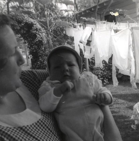 Mom (Patricia), Gary, July 1956