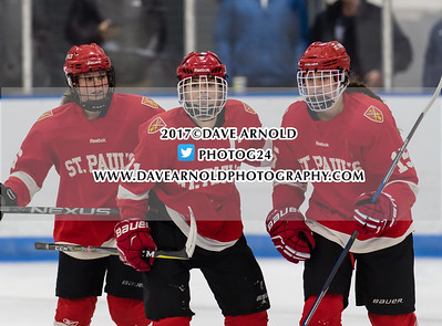 12/17/2017 - Girls Varsity Hockey - Harrington Invitational - Williston vs St.Paul's