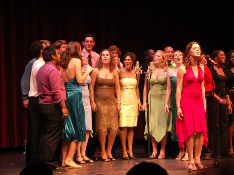 Dartmouth Dodecaphonics at Spring Sing