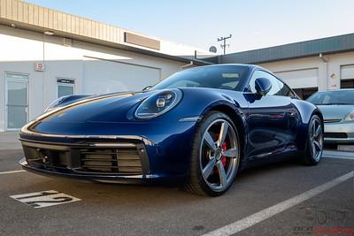 Porsche - 911 (992) - Gentian Metallic Blue