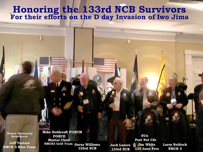 Honoring the 133rd NCB Survivors - D Day Invasion of Iwo Jima