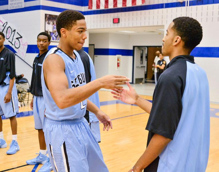 Basketball Varsity vs  Mansfield Seguin 11-11-13-12