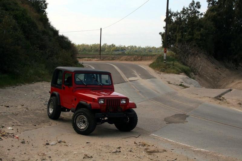 Near the Mexico border in California