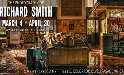 Exhibit at LoveBirds Cafe in Pasadena