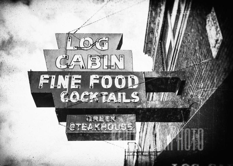 Log Cabin - Fine Food - Cocktails