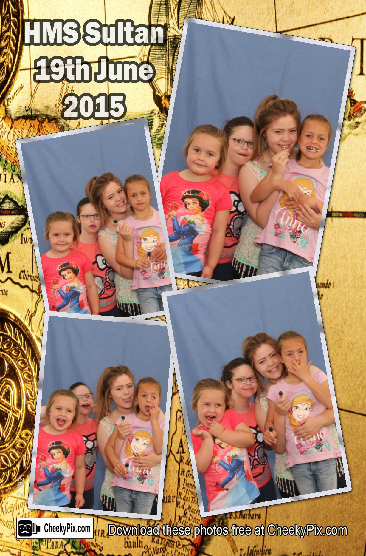 Charity photobooth hire