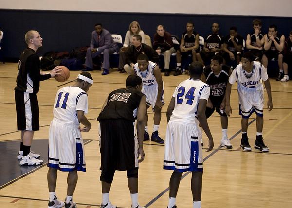 2009 Caravel Academy Boys Basketball vs Howard High School