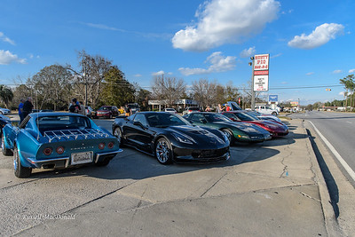 2017-01-14 Corvette Cruise to Rusty Pig