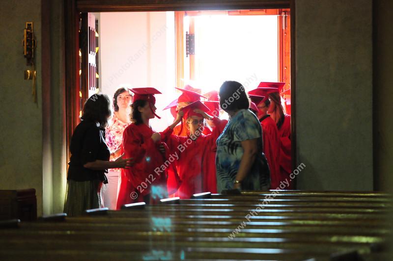 St. Mary's 6th Grade Graduation--May 24, 2012