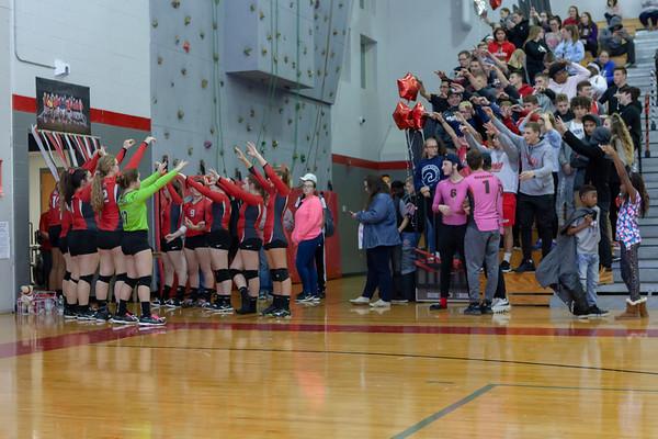 10-18-18 Volleyball CV vs CF