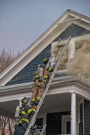 Meriden CT 2nd alarm 57 Wilcox Ave. dwelling fire.