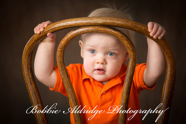 Caden at one year