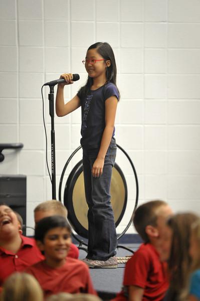 3rd Grade Musical 10/24/13