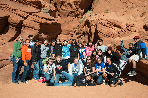 Indiana State Cross Cultural Excursion 2012, Pinon, Arizona