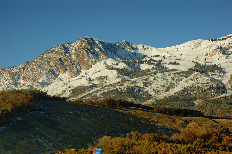 Early Snow, Snow Basin, Utah